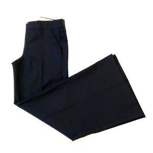 """NWOT THEORY """"Lonan"""" Black Wide Leg Pants"""